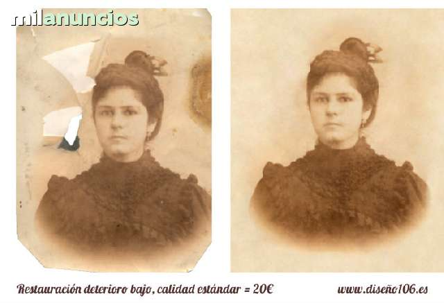 RESTAURACIÓN FOTOGRAFÍA ANTIGUA - foto 5