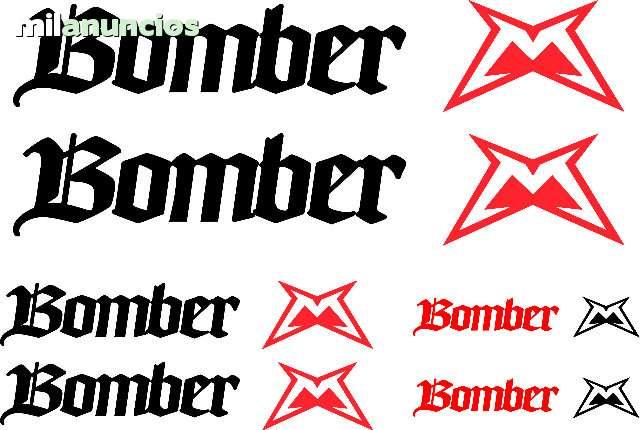 Kits Adhesivos Bomber