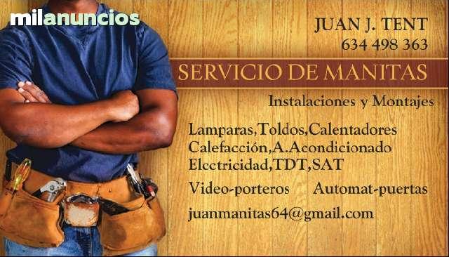 SERVICIOS DE MANITAS, DENIA, JAVEA, ONDARA - foto 1
