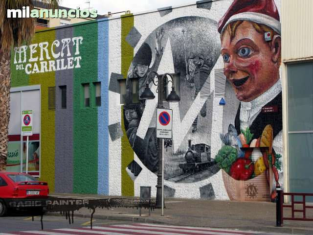 PINTOR DE GRAFFITI ARTE MURAL DECORACION - foto 2