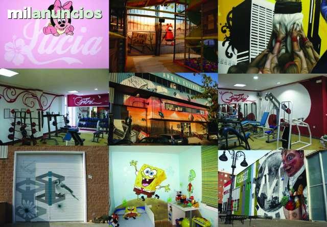 PINTOR DE GRAFFITI ARTE MURAL DECORACION - foto 1