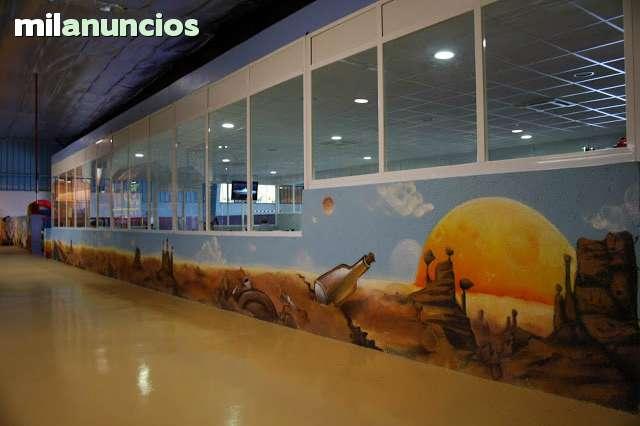PINTOR DE GRAFFITI ARTE MURAL DECORACION - foto 5