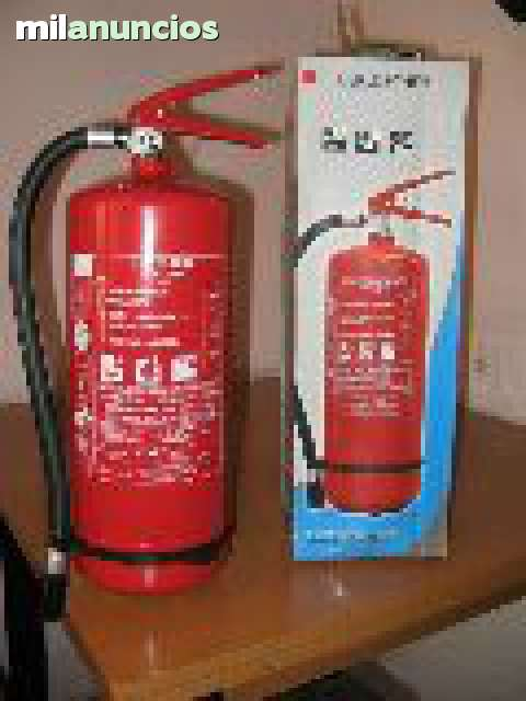 Extintor De Polvo Abc 6 Kg O 3 Kg