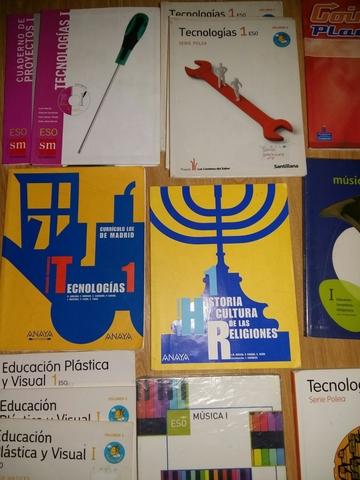 LIBROS DE 1º DE E S O - foto 9