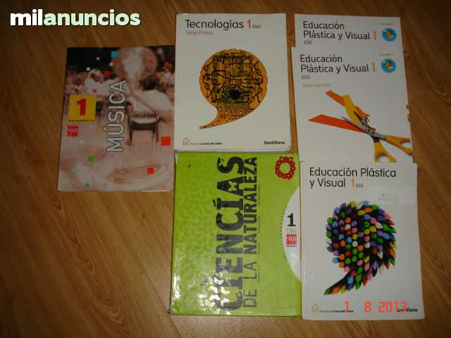 LIBROS DE 1º DE E S O - foto 6