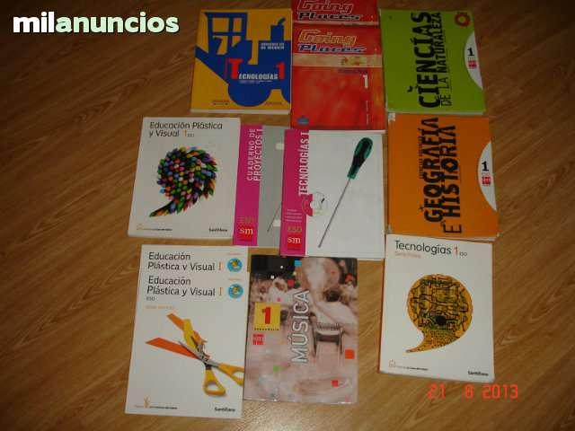 LIBROS DE 1º DE E S O - foto 1