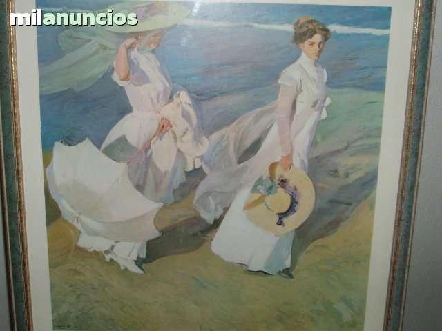 CUADROS DE LAMINAS DE SOROYA - foto 2