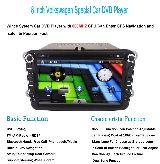 Radio dvd hd gps bluetooth ipod golf 5,6 - foto