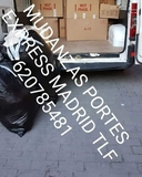 Mudanzas portes express madrid 620785481 - foto