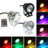 Foco de Luz LED RGB de 10 W  a 12 V-DC - foto