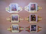 22 Vitolas serie Cuadros de pintores - foto