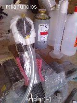 Reparación bielas fibra de carbono - foto