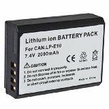 Bateria . 1100D. LP-E10 . 1160 mAh - foto