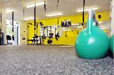 material fitness, - foto