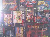 Compro juegos    snes - foto
