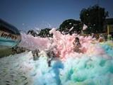 Fiesta de la espuma colores el corsa - foto