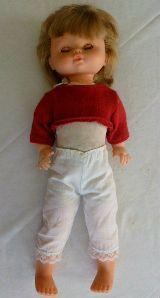 muñeca antigua de jesmar, recogepelo - foto