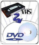 COPÎAS DE VHS A DVD.