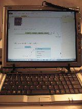 Windows7  tablepc estudio - a pluma alza - foto