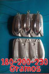 molde bala de 180-200-230 gramos - foto