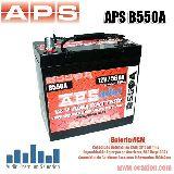 BATERIA APS B550A AGM - foto