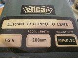 elicar 135-2.8  200mm objetivo analogico - foto