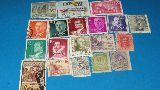 Mini colección de sellos - foto