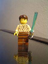 Figura lego star wars cuerpo amarillo - foto