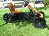 Coches de pedales .berg rally orange - foto