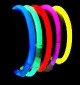 Pulseras luminosas - foto