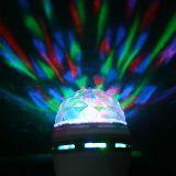 Bombilla con Proyector de Luz LED RGB - foto