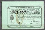 Loteria de 1868 - foto