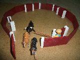 Plaza  de  toros  de  juguete - foto