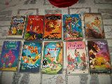 VHS Disney  14 cintas dibujos 15 euros - foto