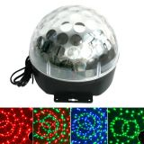 bola de discoteca con leds multicolor - foto