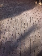 Pavimento impreso - foto