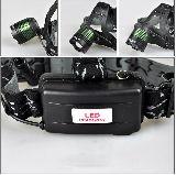 Linterna Frontal Zoom y LED CREE XM-LT6 - foto