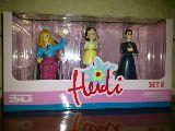 Heidi set b  original 3 figuras nuevo - foto
