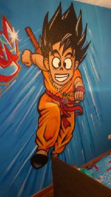 rótulos decoraciones graffiti murales ib - foto