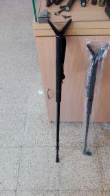 baston de caza apoyo rifle monopode - foto
