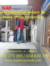 mudanzas baratas en barcelona 654624789 - foto