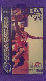 juego Sega Saturn NBA Live 98 - foto