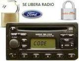 se libera código radio ford - foto