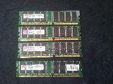 MEMORIA RAM DDR400  4x1gb=4 - foto
