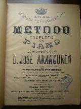 Método de piano de José Aranguren - foto