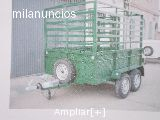 Remolque para carga de ganado. 2 ejes - foto