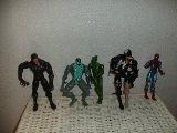 spiderman lote de 5 muñecos o figura - foto