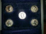 Monedas conmemorativas familia real - foto
