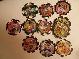 222 tazos destroy spinners (1 repetido d - foto