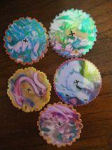 6 tazos bestial spinners (ver foto adici - foto